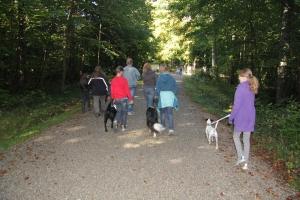 Herbstausflug mit der Gassirunde zum Wildpark Eichert in Heidenheim